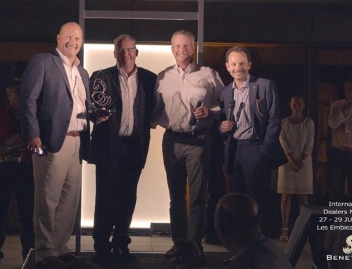 2017 Best Digital Dealer award from Groupe Beneteau