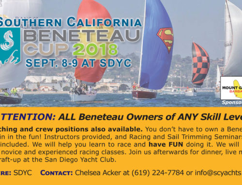 Beneteau Cup coming soon – Sept. 8-9! Join the fun – all sailors welcome!