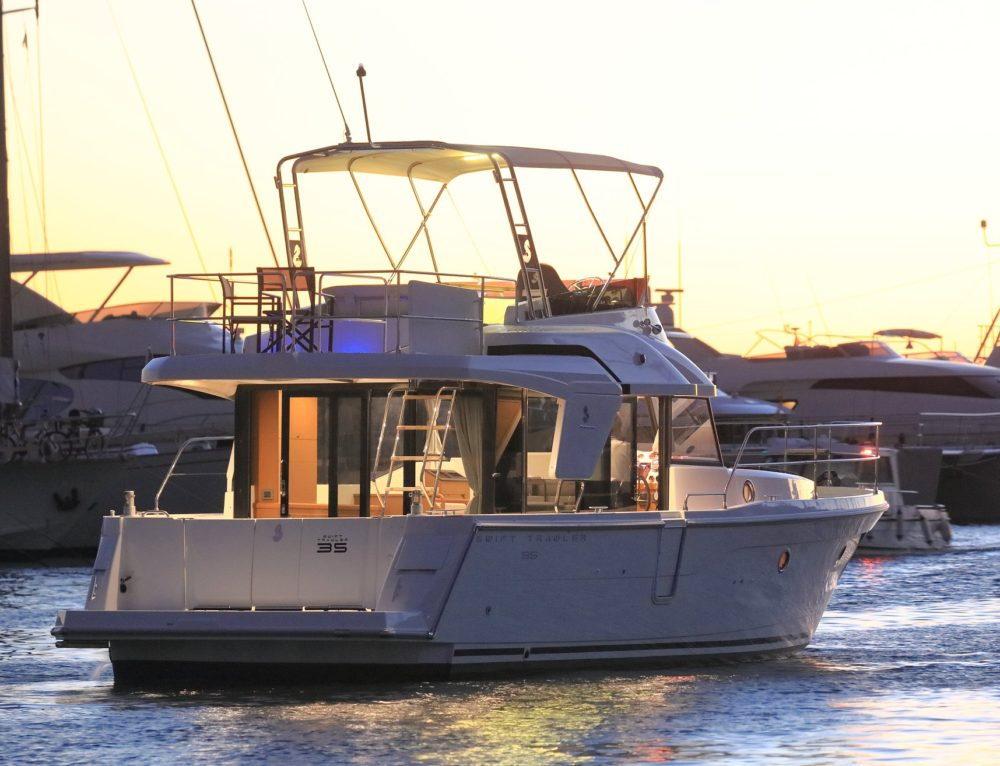 New Swift Trawler 35 arrives soon!