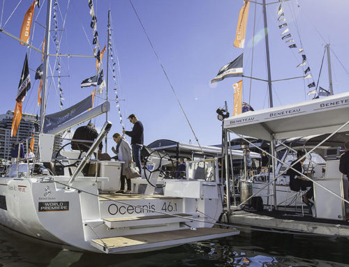 Oceanis 46.1 launched at the Sydney International Boat Show