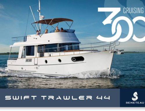 Almost 300 Beneteau Swift Trawler 44s built to date…