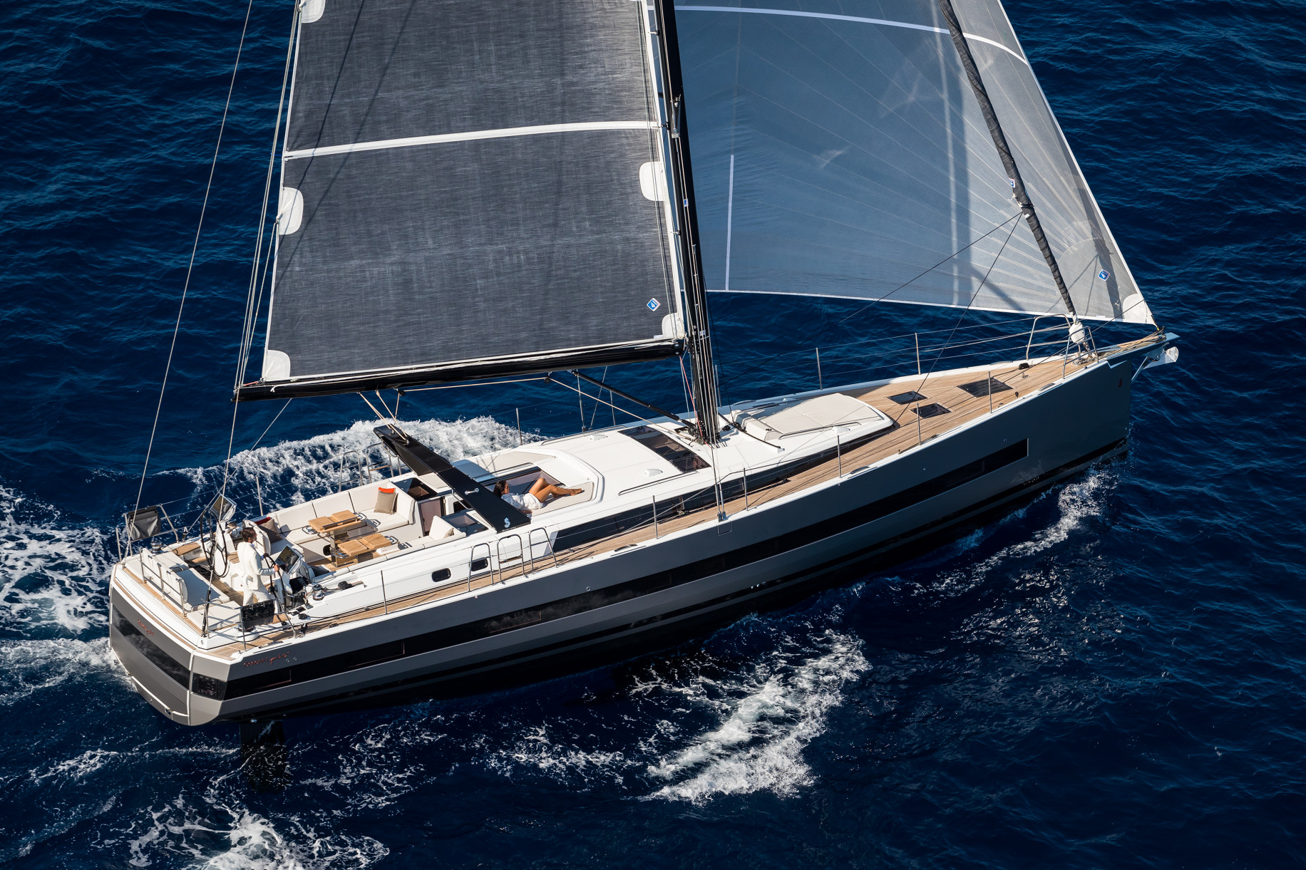 Isle Porquerolles, France, 28 september 2016.The all new Oceanis Yacht 62 By Beneteau.Ph: Guido Cantini / Sea&See