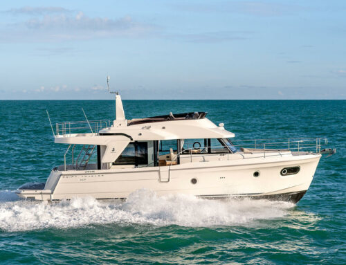 The new Beneteau Swift Trawler 47 arrives on the West Coast soon!
