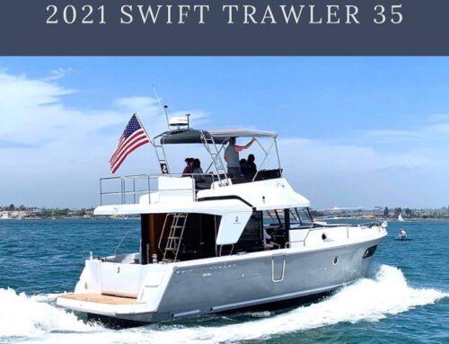 It's Back! Boat of the Week! Swift Trawler 35