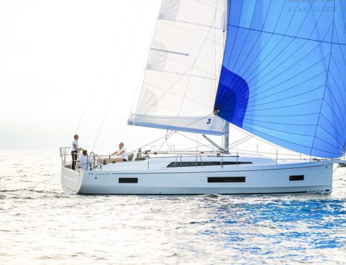 Does sailing a large yacht single-handed seem like a challenge?