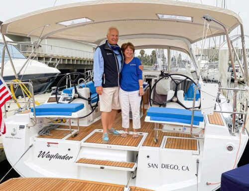 Interview with Ron F. Owner of WAYFINDER (Oceanis 41.1)