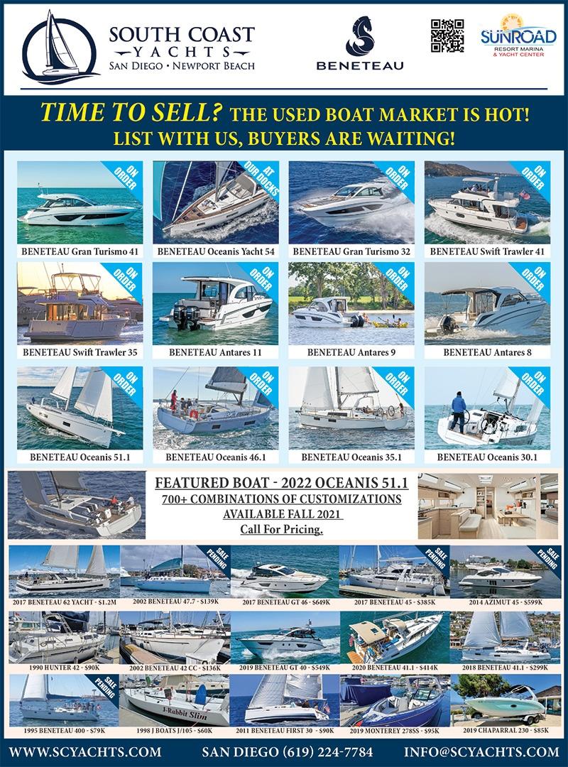 Sailboat Specials