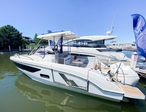 Check out the Flyer 9 SUNdeck…it's available!